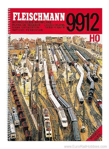 Fleischmann 9912 Ho Ho Track Plan Book