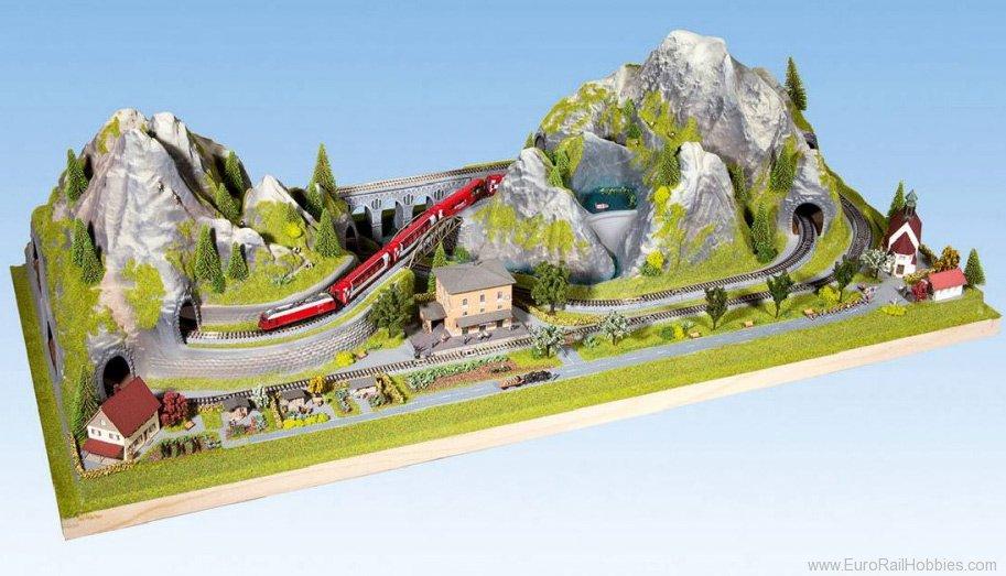 Noch 83860 Preformed Swiss Layout Bergruen 125
