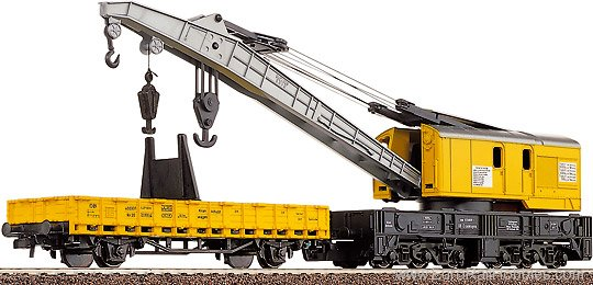 Jib Crane Nomenclature : Roco ho h ton crane with jib car yellow