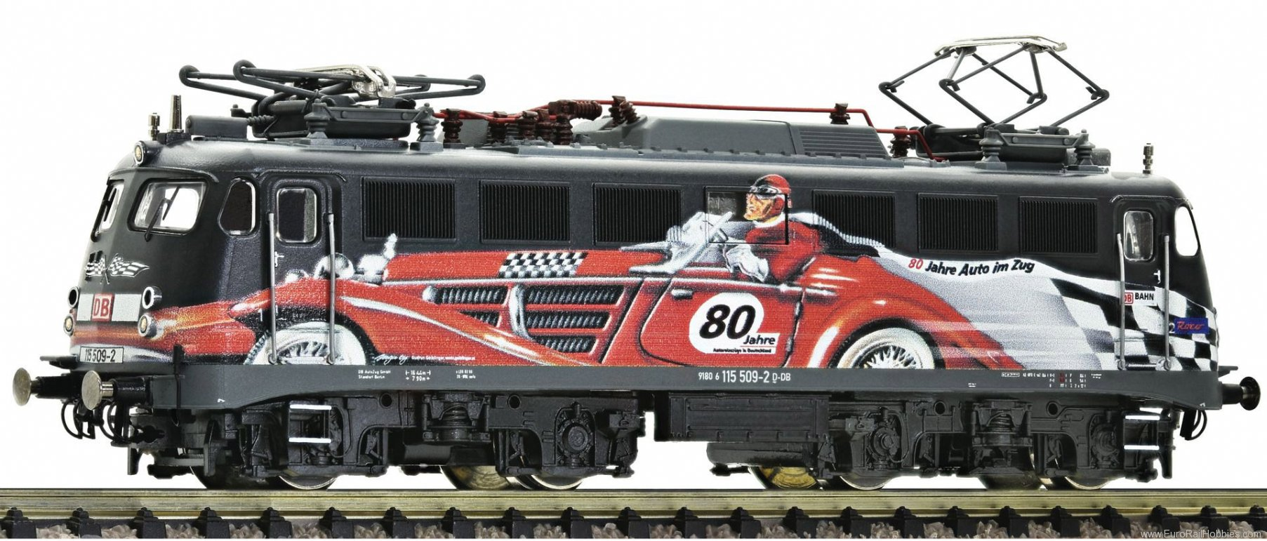 Fleischmann 733876 DB AG Electric locomotive 115 509-2 '80 Years