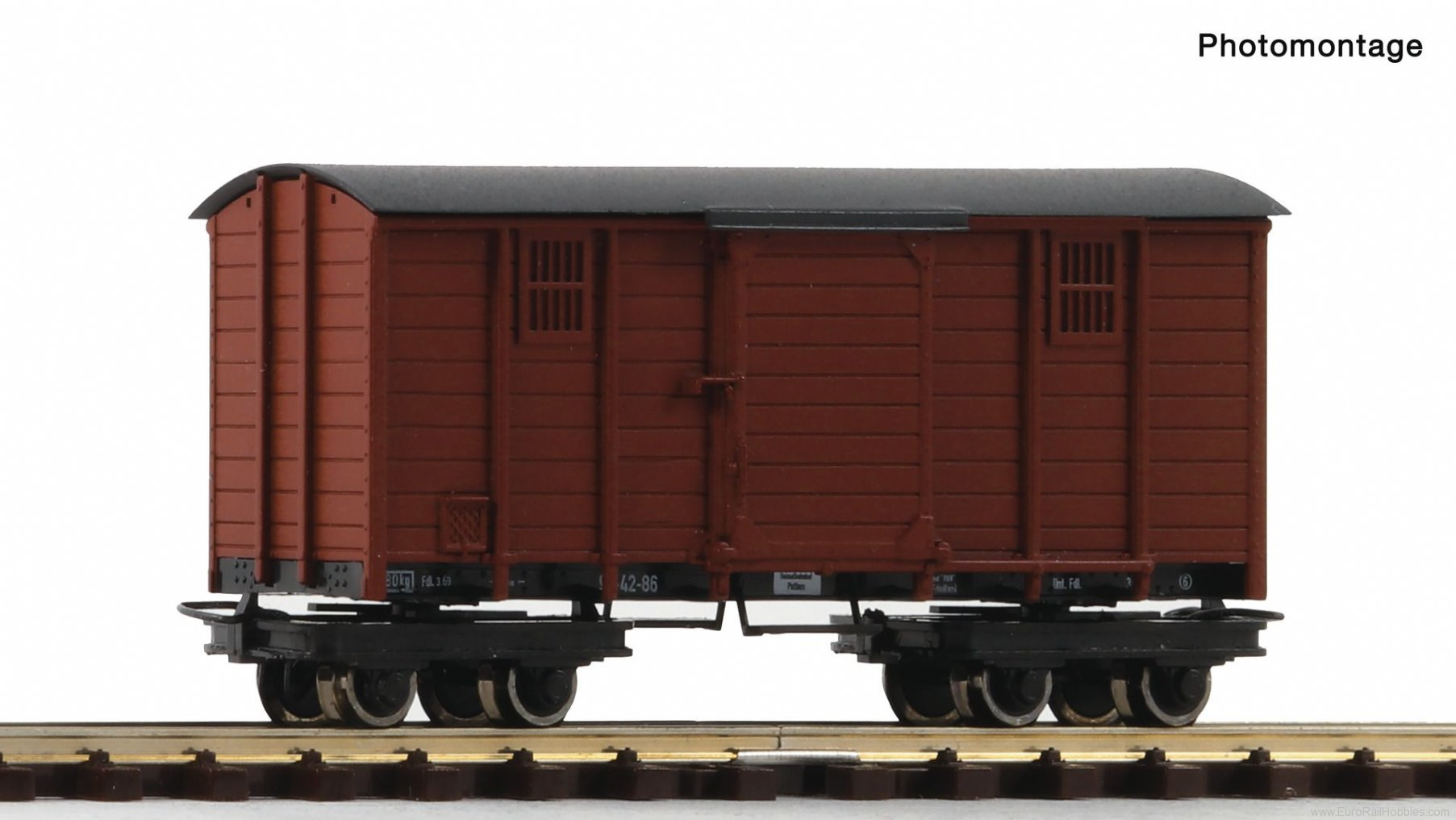 "Roco 34623 Box goods wagon ""Waldbahn"""