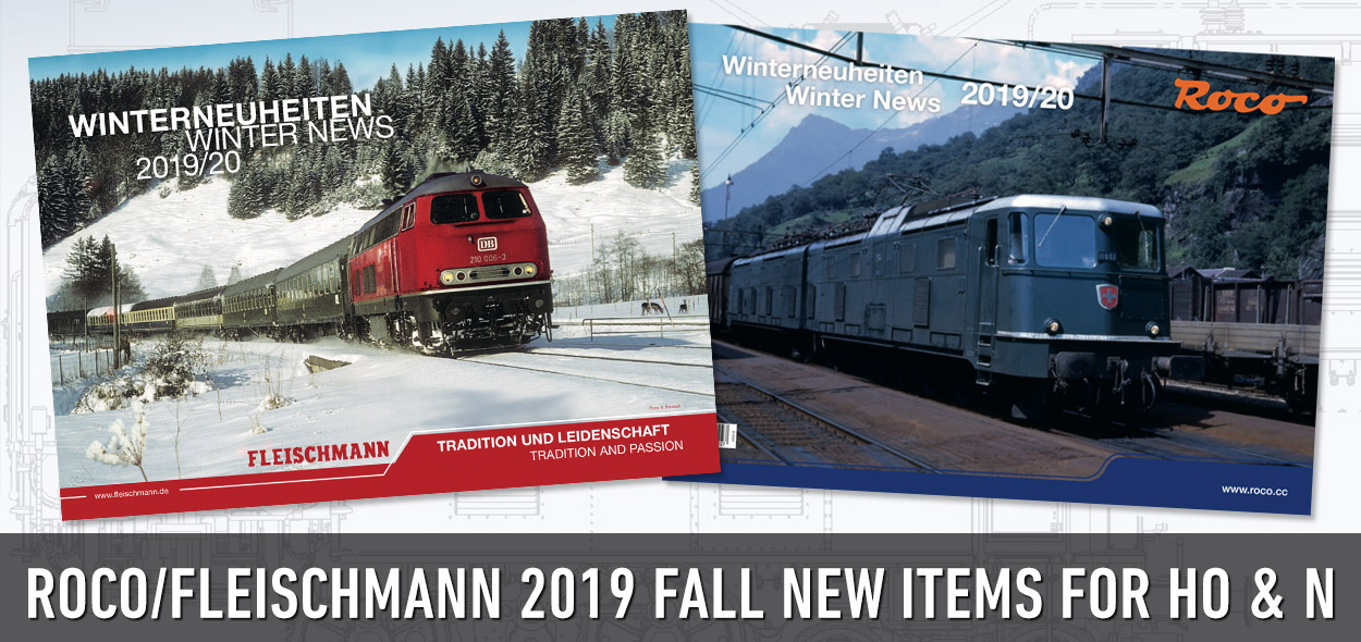 Roco & Fleischmann Fall/Winter 2019 New Items posted