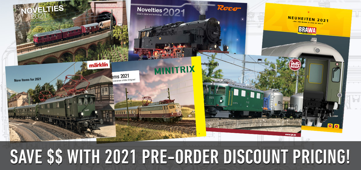 2021 Pre-Order Discount Pricing!