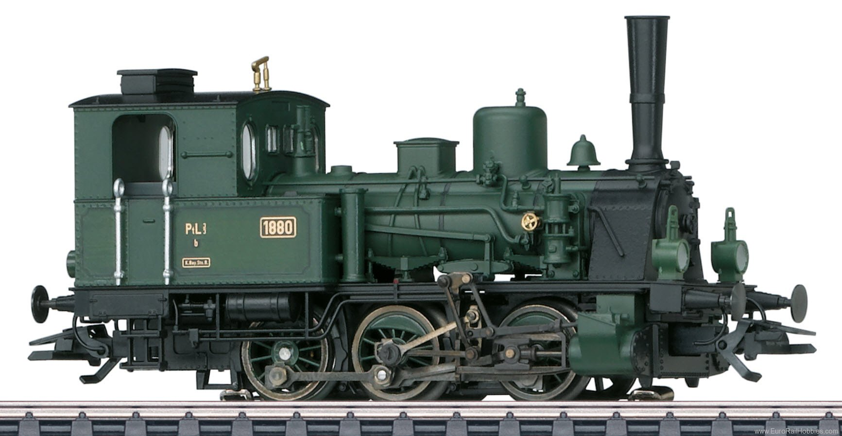 Marklin EUROTRAIN Special Edition K.Bay.Sts.B. Steam locomotive PtL 3/3, MFX+ Sound