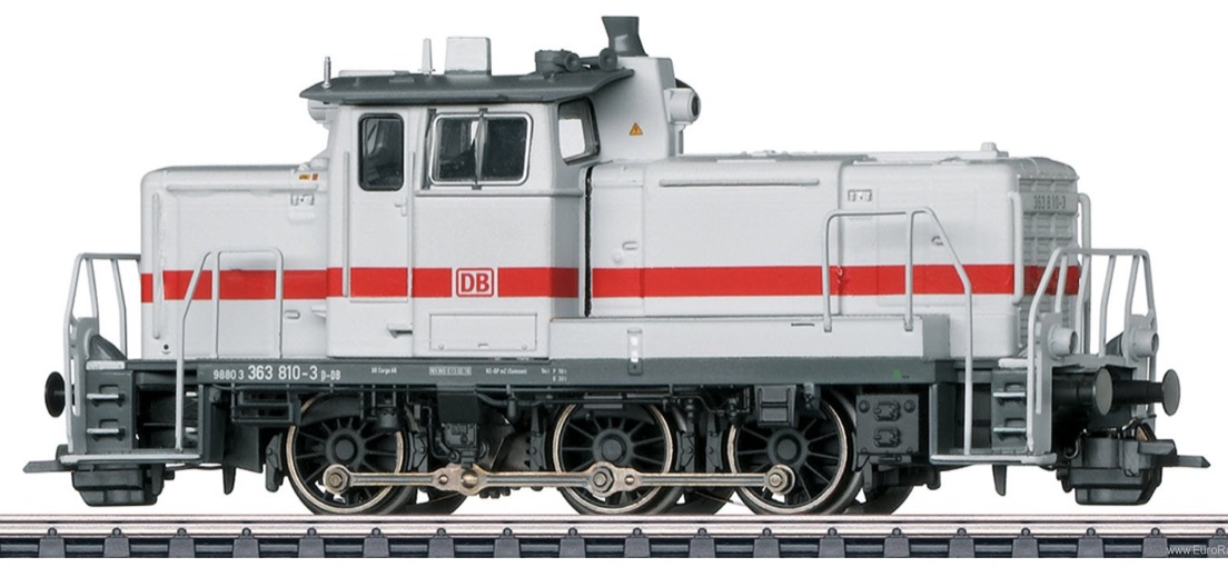NEW! Marklin Eurotrain Special Edition HO BR363 in ICE White/Red Livery
