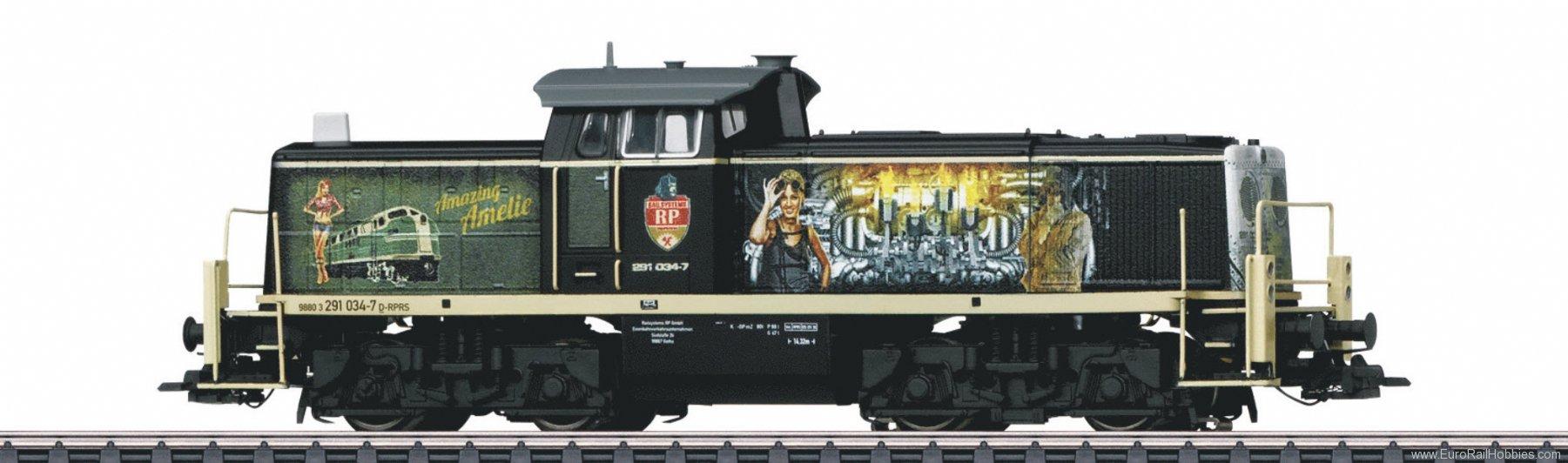 New EuroTrain/Idee & Speil Marklin Special Edition - HO BR291 'Amazing Amelie'