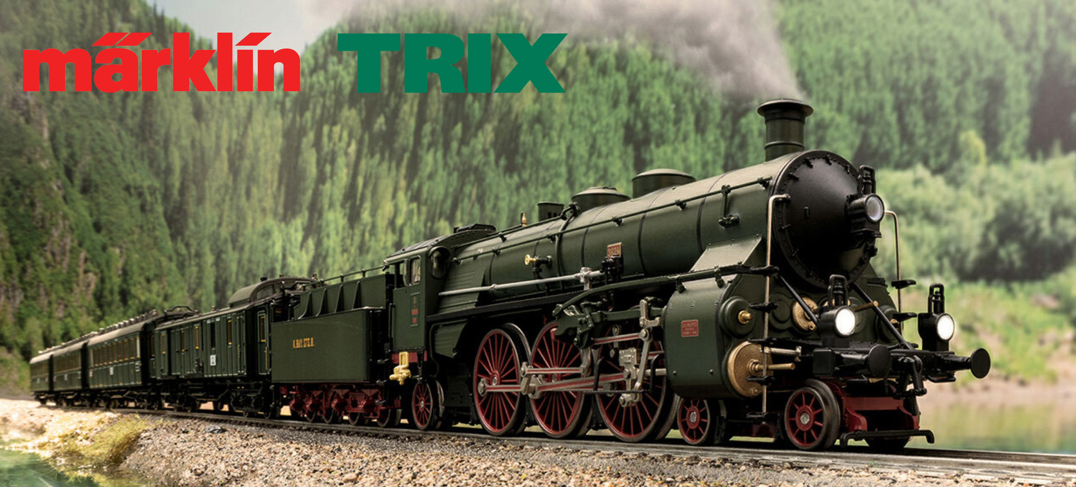 MARKLIN/TRIX Surprise Model for 2019 - HO scale S 3/6 Steam Locomotive The 'Hochhaxige' / 'High Stepper'
