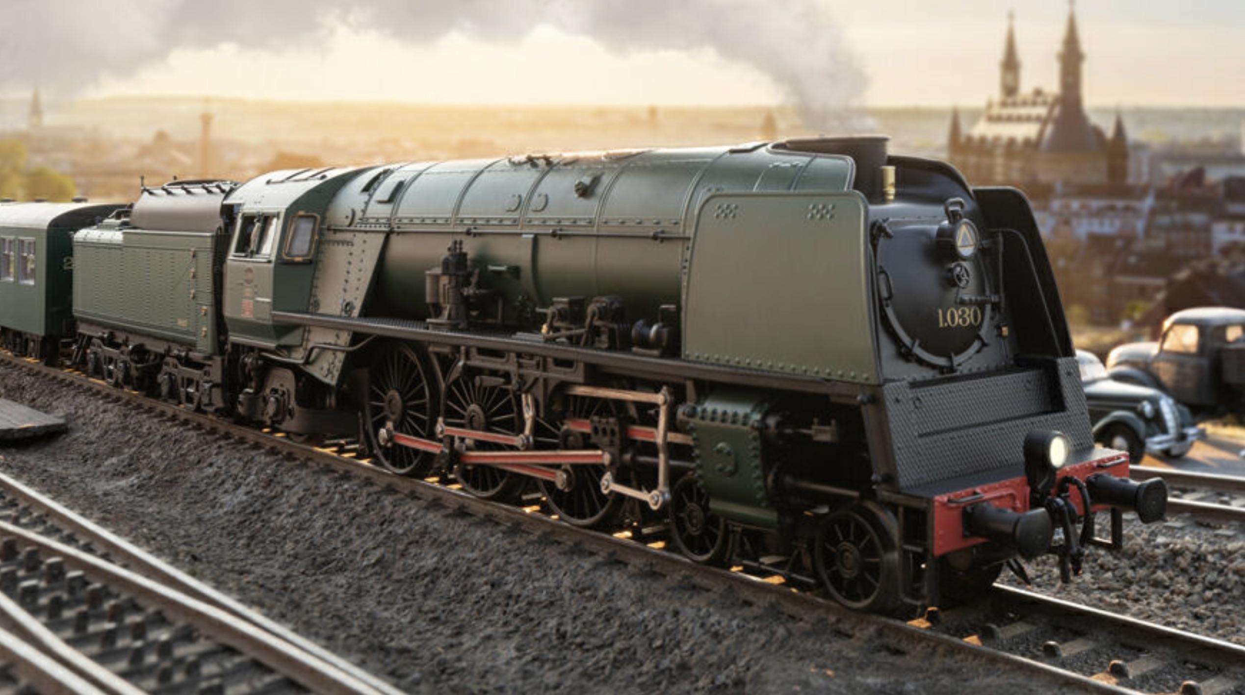 Marklin Trix HO 'Surprise' Loco for 2020 - SNCB Class 1 Steam Locomotive