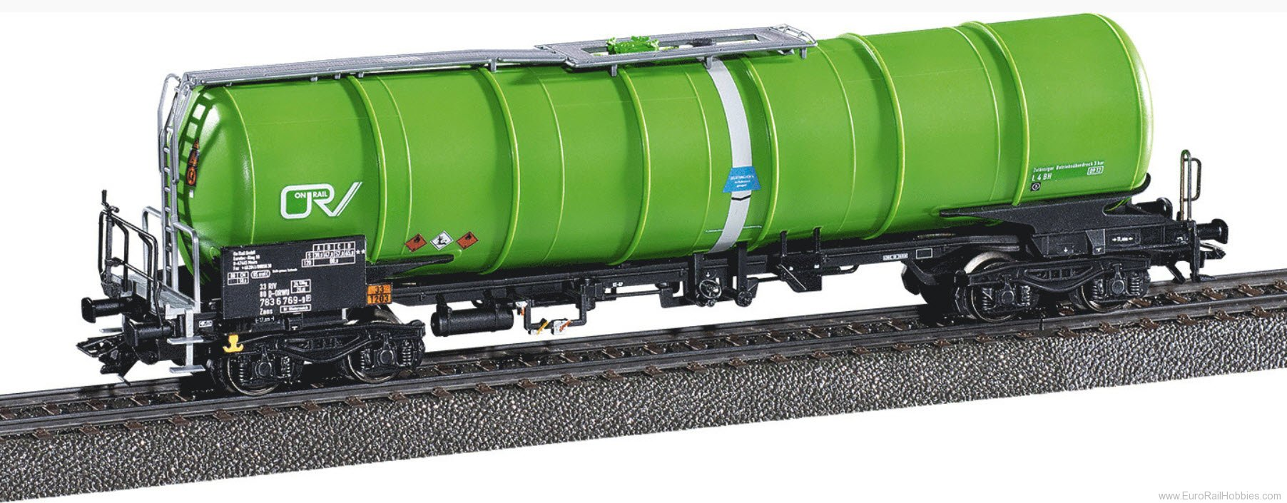 New EuroTrain/Idee & Speil Marklin Special Edition - HO On Rail Type Zans Tank Car