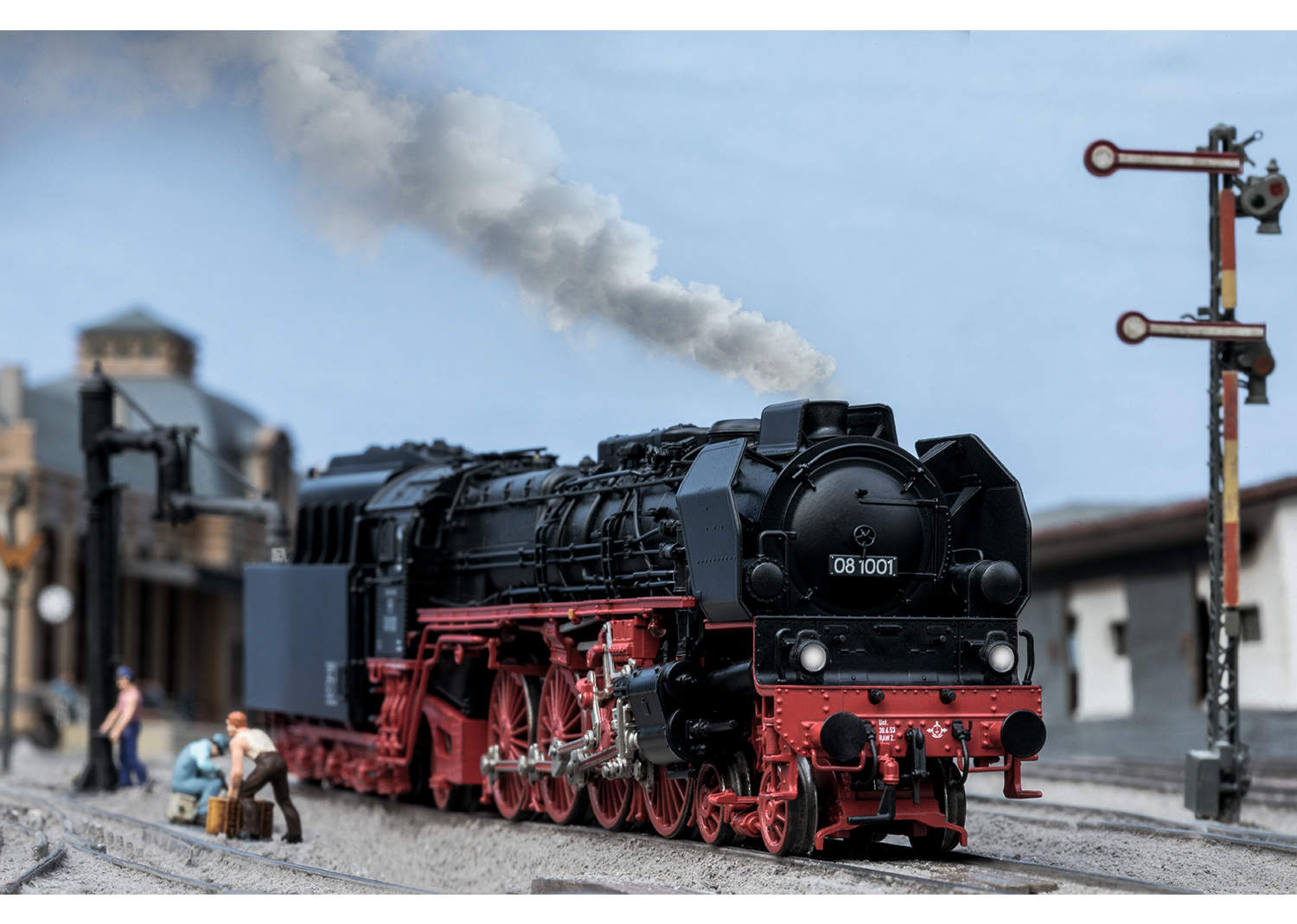 Marklin/TRIX HO Special Edition BR08 Heavy Steamer Announced!