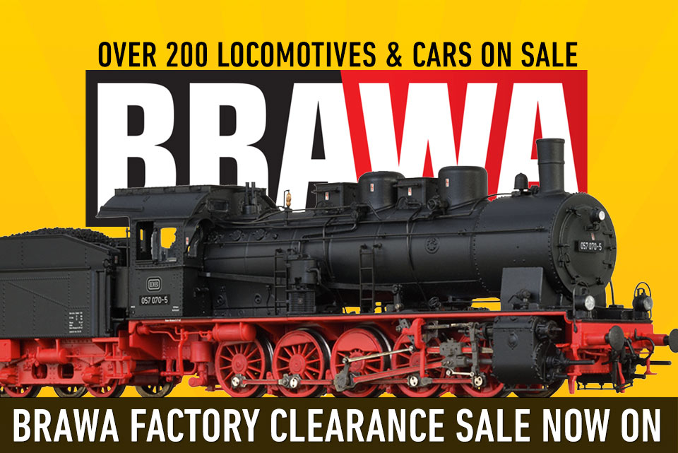 BRAWA Factory CLEARANCE SALE!