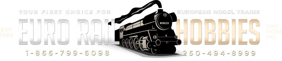 Marklin HO, Z and 1-Gauge model trains at Euro Rail Hobbies