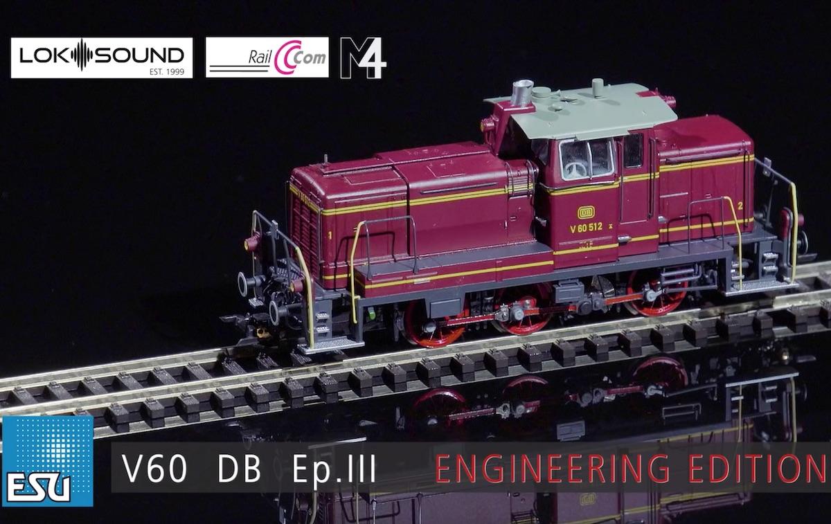 2019 New Items Preview - ESU V60 in HO and Loksound v5!