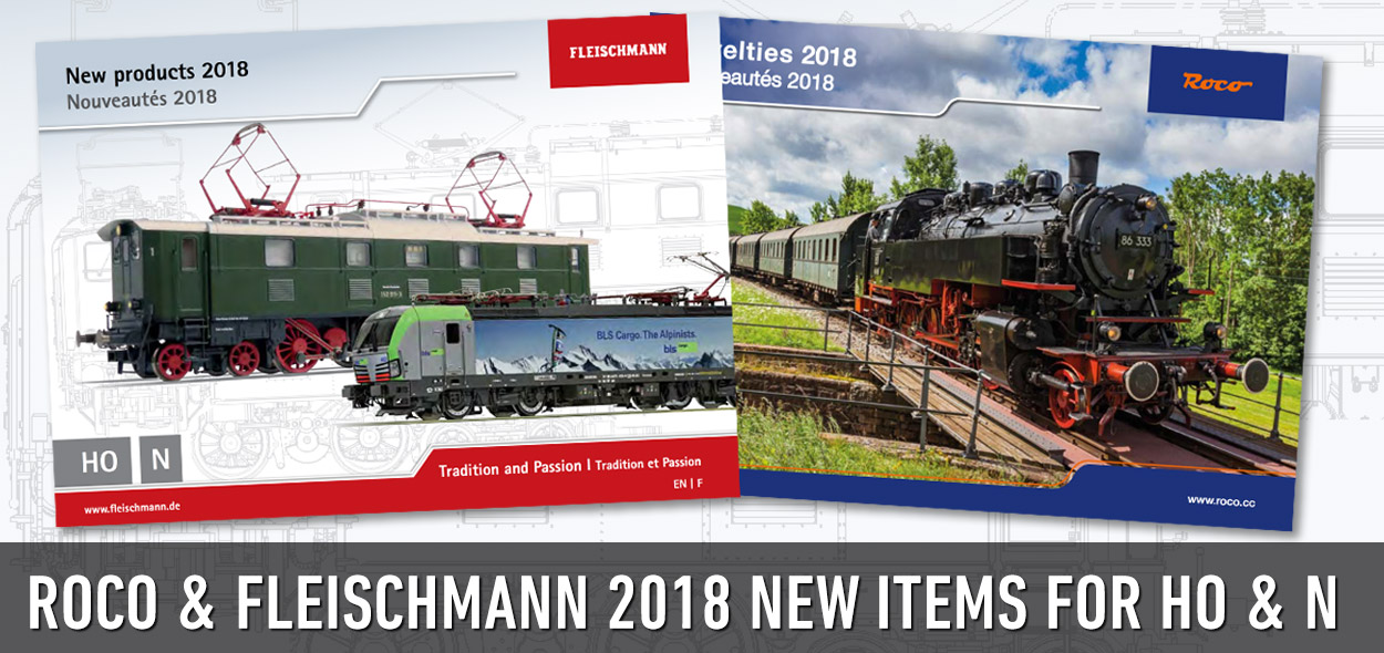 ROCO FLEISCHMANN 2018 New Items