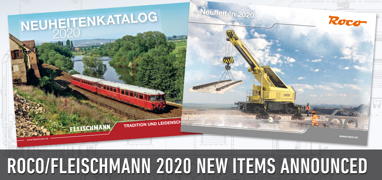 Roco Fleischmann 2020 New Items