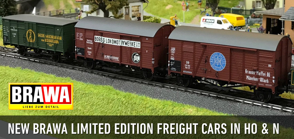 Brawa Limited Edition Freight Cars