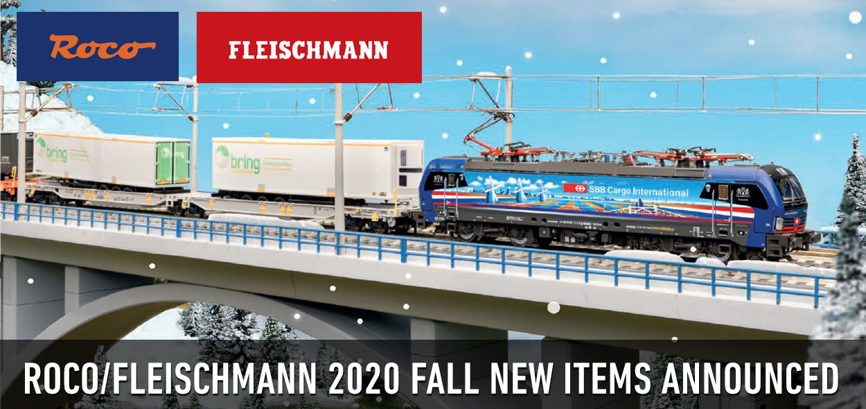 Roco Flesichmann 2020 Fall New Items
