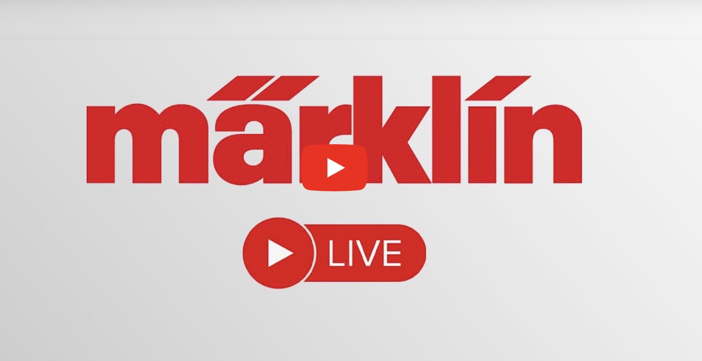 Watch 'Marklin Live' on Youtube every day