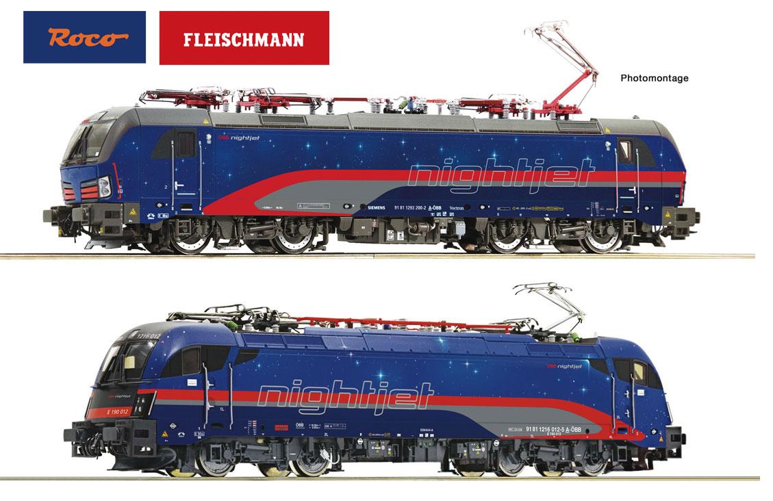 NEW Roco/Fleischmann HO & N OBB Nightjet Locos - Fall New Items Announcements
