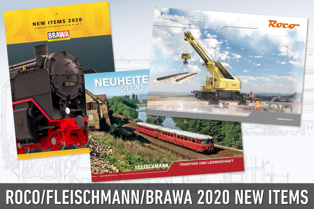 2020 New Items Toyfair Newslettter - Part II Roco,Fleischmann and Brawa