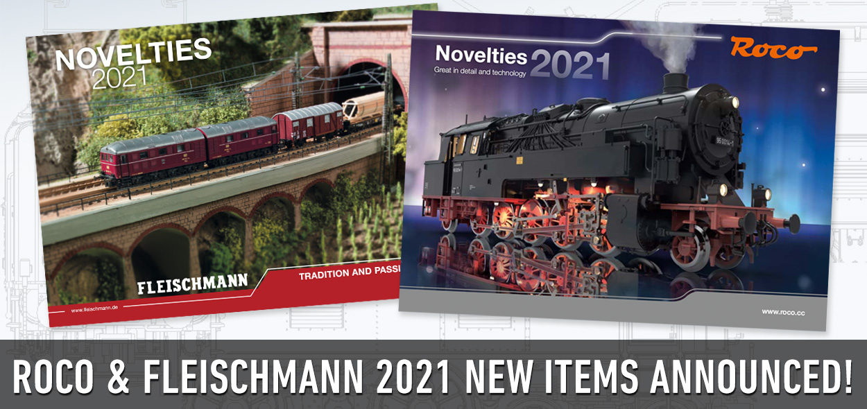 Roco & Fleischmann 2021 New Items posted!
