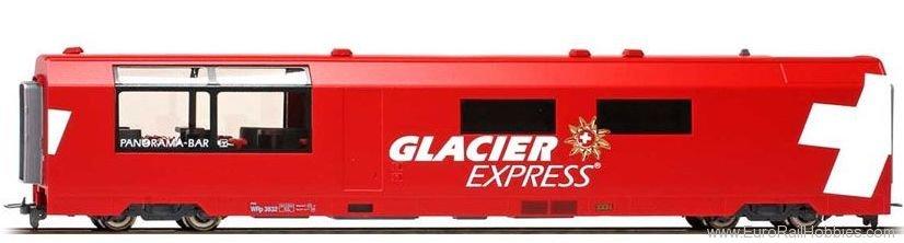 BEMO 3289132 Glacier-Express Panorama-Servicewagen WRp 3832 der RhB H0m