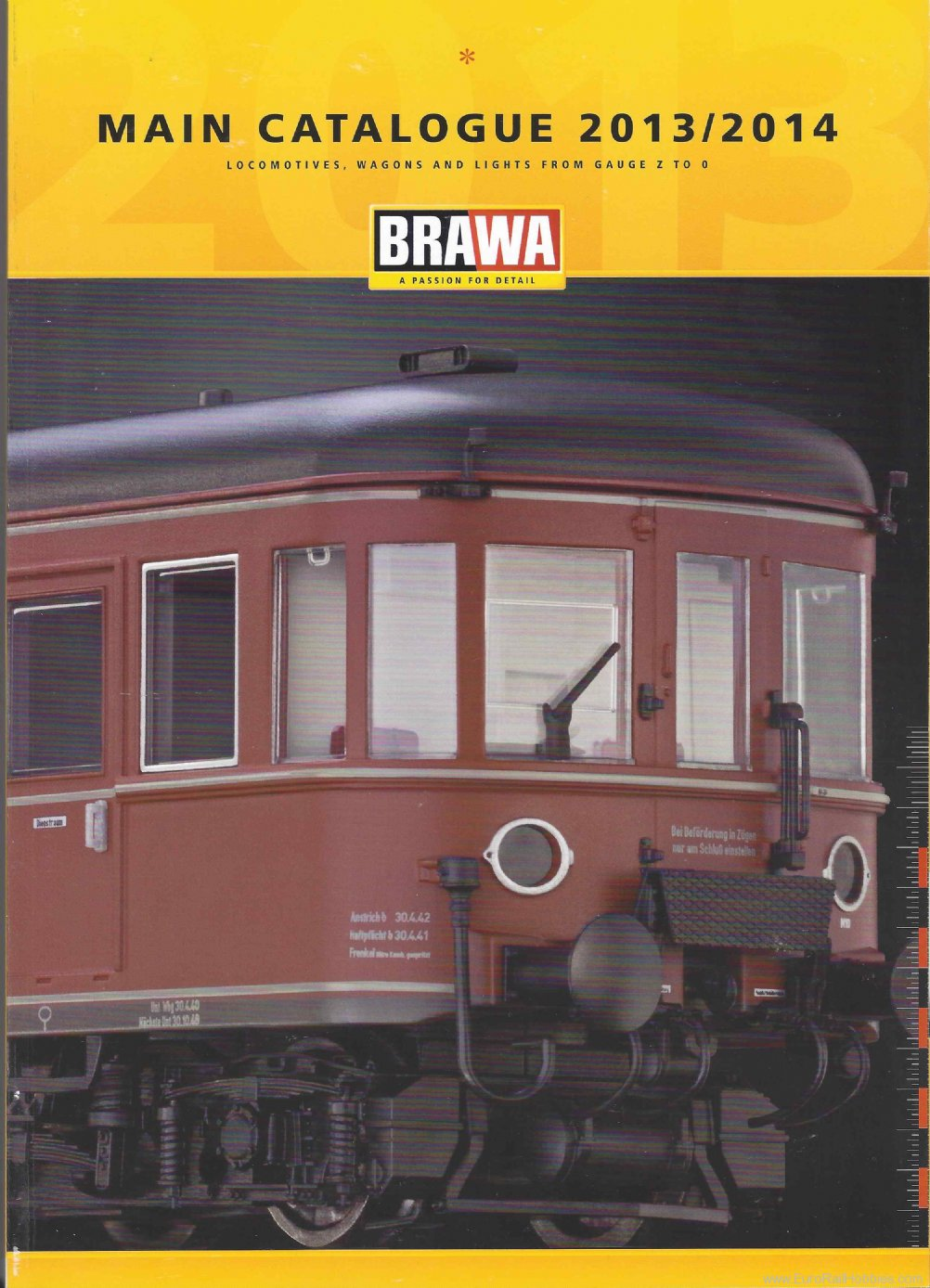 Brawa 0113.5 Main Catalogue 2013/2014, New English Edition