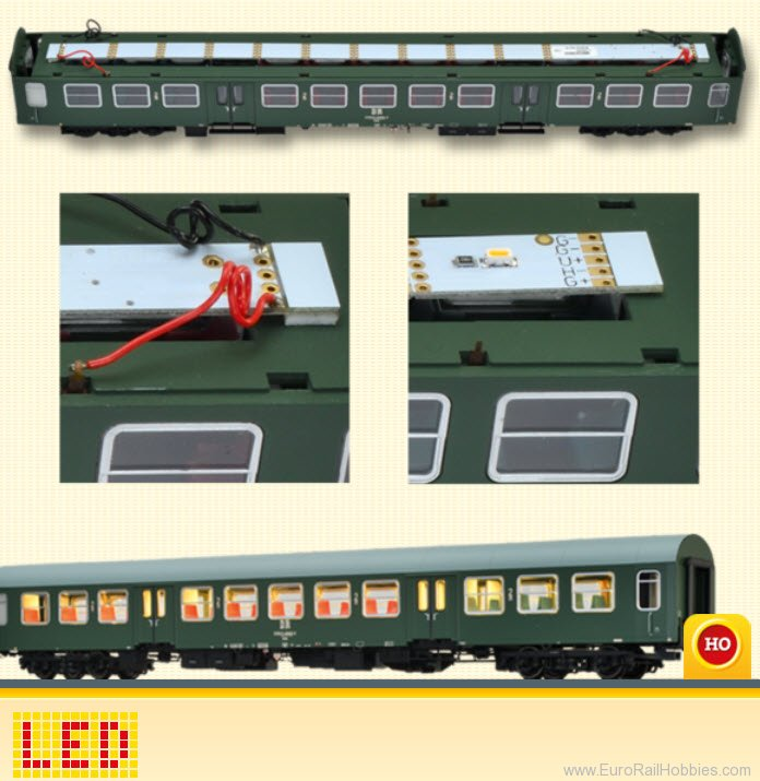 Brawa 2212 Light PCB for passenger coach with LED, varia