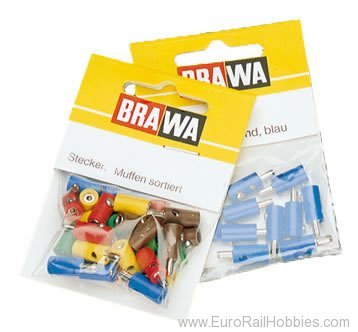 Brawa 3072 Plug Assortment 100 (Same as Marklin 7130) 66