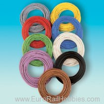 Brawa 3105 Strand Wire - Blue - 10M Roll, 0.14mm gauge