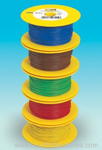 Brawa 3113 Braided Wire 100 m green
