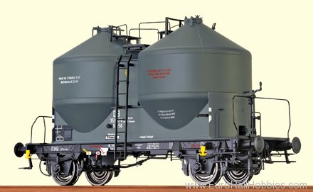Brawa 37111 Cement Silo Car Kds 56 DB