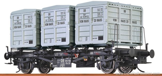 Brawa 37160 Container Car BTs 30 DB