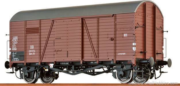 Brawa 37185 Covered Freight Car Gmrs 30 'Oppeln' DB