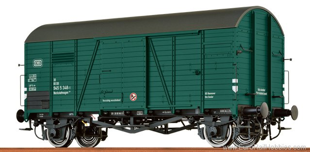 Brawa 37189 Covered Freight Car Gklm 200 'Oppeln' DB 'Wer