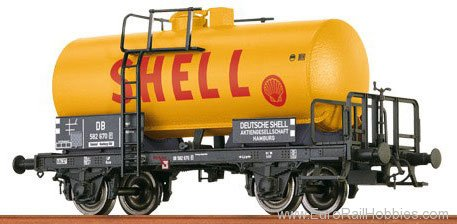 Brawa 37252 Tank Car 2-axle Shell DB