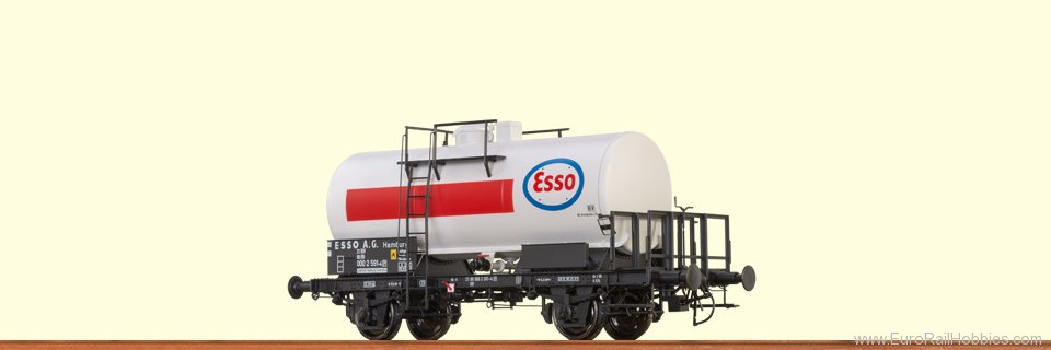 Brawa 37254 Tank Car 2-axle 'Esso' DB