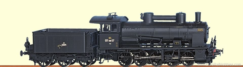 Brawa 40161 French EST 5009 (Former BR57) Steam Locomotiv