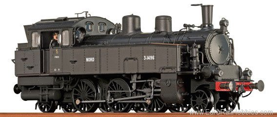 Brawa 40190 Steam Locomotive T 5 NORD (DC Digital Version