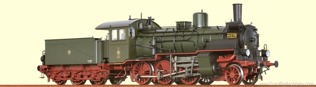Brawa 40451 Steam Locomotive G5.4 K.P.E.V. (AC Digital)
