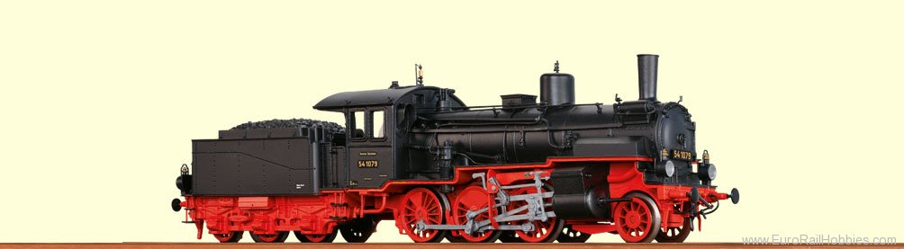 Brawa 40455 Steam Locomotive BR 54.8-10 DRG (AC Digital)