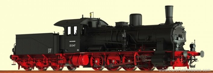 Brawa 40708 Steam Locomotive G 7.1 DB (DC Analog Version)