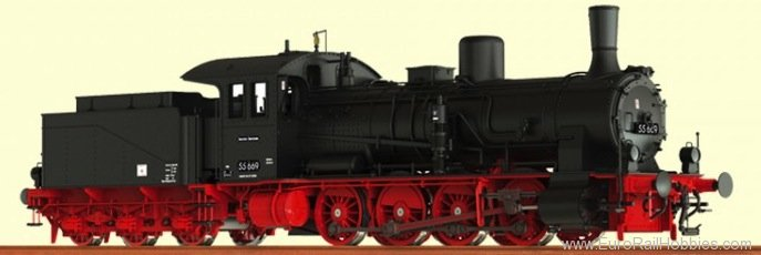Brawa 40715 Steam Locomotive G 7.1 DR (AC Digital Premium