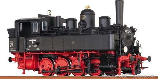 Brawa 40788 Tender Locomotive BR 92.22 DRG (DC Analog Ver