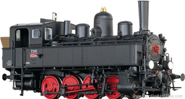 Brawa 40792 Tender Locomotive BR 422 CSD (DC Analog Basic