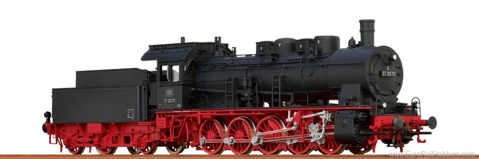 Brawa 40811 Steam Locomotive BR 57.10 DB (AC Digital Prem