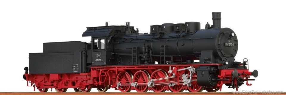 Brawa 40813 Steam Locomotive BR 057 DB (AC Digital Premiu