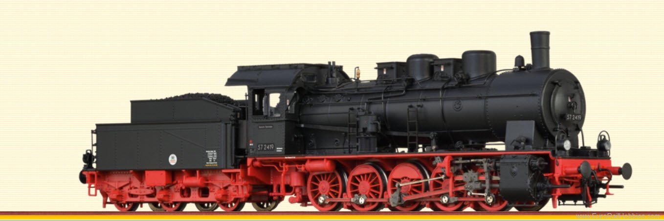 Brawa 40819 Steam Locomotive BR 57.10 DR (AC Digital Prem