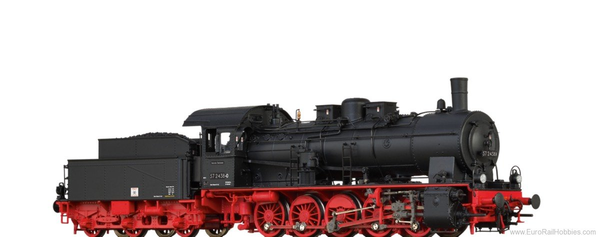 Brawa 40836 Steam Locomotive 57.10 DR (DC Analog Basic Pl