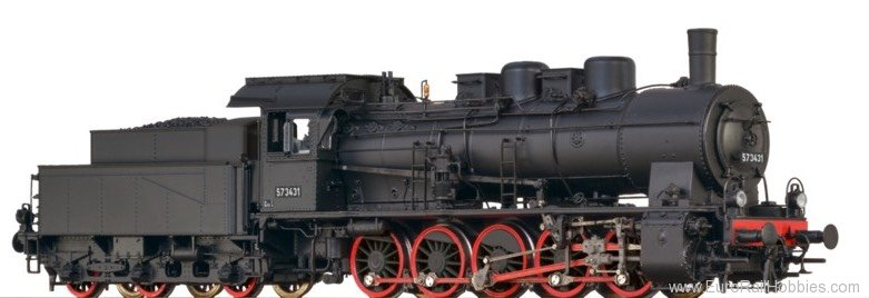 Brawa 40852 Steam Locomotive BR 61 a NSB (DC Analog Versi